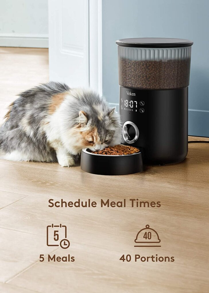 smart Feeders for Cats On time to Feeds